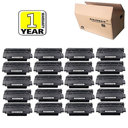 Etechwork 64A CC364A Toner Cartridge 20 Pack Replacement (High Yield) for LaserJet P4014, P4015, P4015n, P4015tn, P4515, P4515n, P4515tn, P4522x