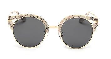 Nuevas gafas de sol, cara de las caja grande moda gafas de ...