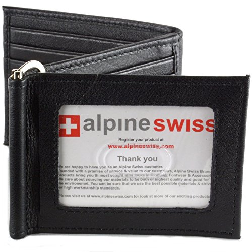 Leather Wallet Spring Trifold Bifold
