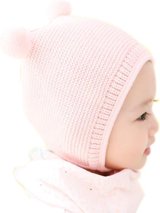 Oyfel Gorros Bebé Niño Niña Invierno Beanie Sombreros de Bolas ...