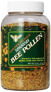 Golden Flower Spanish Bee Pollen, 16-Ounce (B0019LR30Y) | Amazon price tracker / tracking, Amazon price history charts, Amazon price watches, Amazon price drop alerts