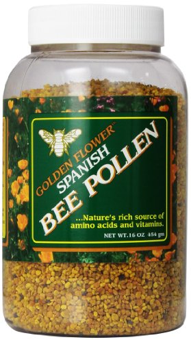 (Golden Flower Spanish Bee Pollen, 16-Ounce)