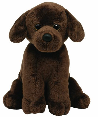 Ty Beanie Baby Cocoa Brown Dog