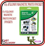 "151, Magnetic Photo Pocket, 6"" x  4"",..."