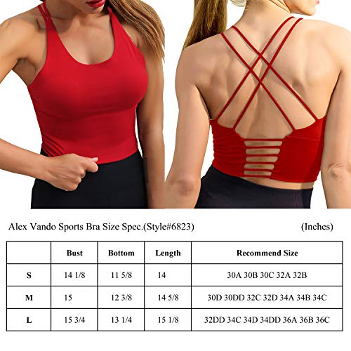 Alex-Vando-Womens-Padded-Sports-Bra-Fitness-Workout-Running-Yoga-Tank-Top