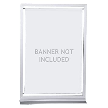 Amazon.com : Vispronet - Small Banner Frame - Made to Fit 8.2in x ...