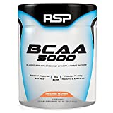 RSP BCAA 5000, Premium BCAA Powder for Post Workout Muscle Recovery, Endurance & Energy, 5g of Essential Branched Chain Amino Acids per Serving, 30 Servings (Orange Mango)