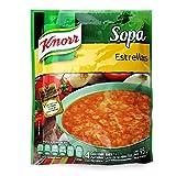Knorr Sopa Instantánea de Estrellitas Sobre, 95 g