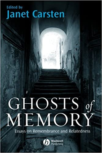 ghosts of memory essays on remembrance and relatedness janet  ghosts of memory essays on remembrance and relatedness 1st edition