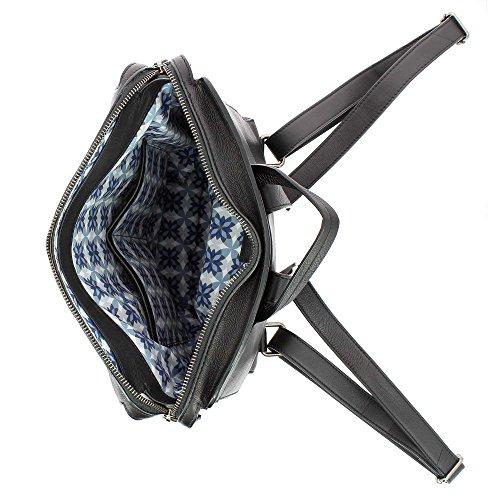 1660 Mujer Para Al 612 Compact 01 Cuero Hombro Dudu Bolso Negro De pZ5Uxwnq