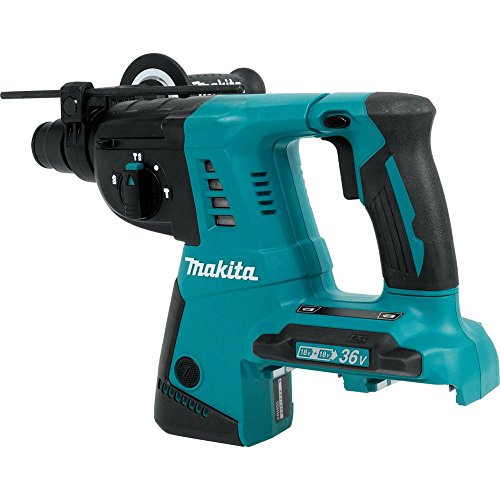 (Makita XRH05Z 18V X2 LXT Lithium-Ion (36V) Cordless 1-Inch Rotary Hammer, accepts SDS-PLUS bits, Tool Only)