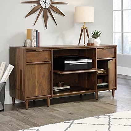 Charmant Sauder Clifford Place Storage Credenza In Grand Walnut