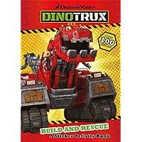 Dinotrux: Build and Rescue! Sticker Book