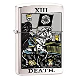 Chrome Finish Tarot Deck Lighter
