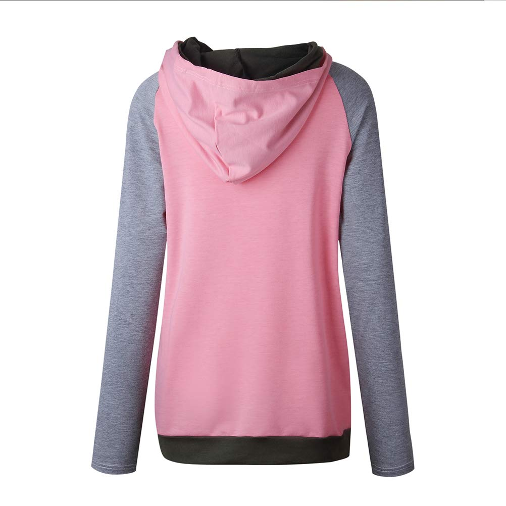 ADLISA Women/'s Casual Long Sleeve Tall Collar Loose Irregular Pullover Sweatshirt Sweaters