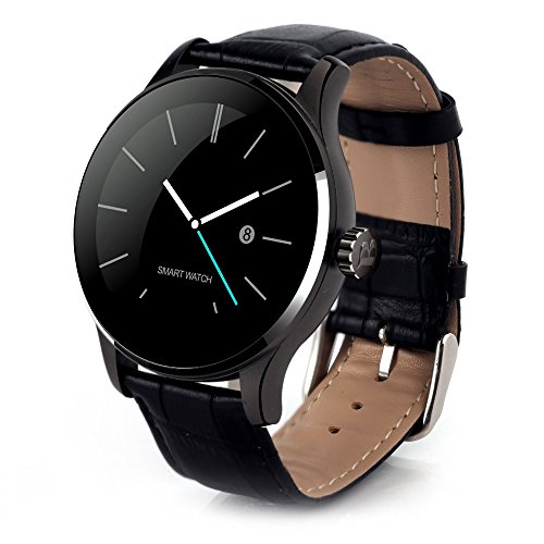 gblife-k88h-bluetooth-smart-watch-with-heart-rate-monitor-leather-band-wristwatch-for-ios-and-androi