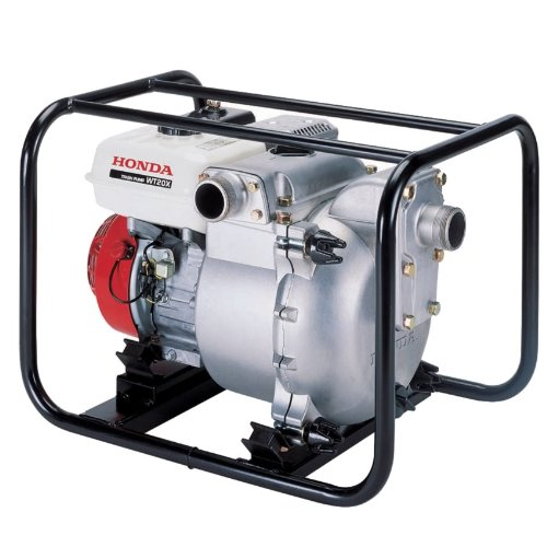 Honda WT20 (WT20XK4A) Heavy-duty 2-inch 185 Gal./Min Capacity Construction Trash Pump, Cast (Cast Iron Volute)