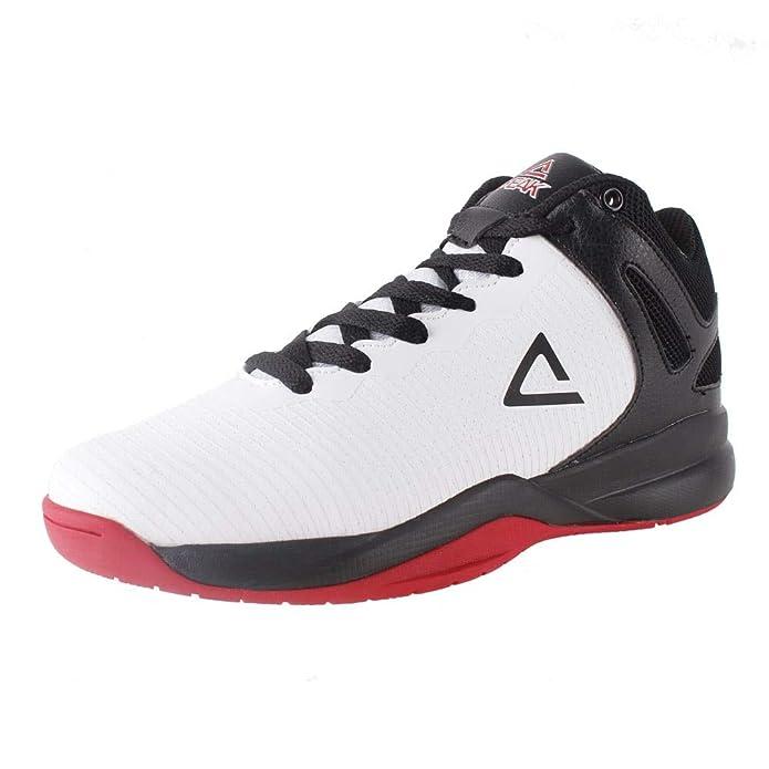 cdb44bb781e6c Amazon.com: PEAK Kids Basketball Shoes TP9 Boys Retro High Top ...