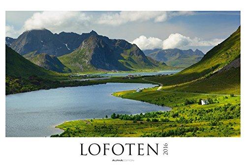 Lofoten 2016 - Nordmeer/Norwegen - Bildkalender XXL (68 x 46) - Landschaftskalender - Naturkalender