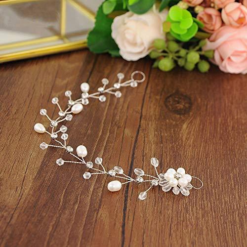 Bride Hair Accessories Crystal Wedding Hair Vine Hair Piece Bridal Headpiece for Bride and Bridesmaids -