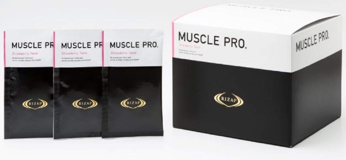 ライザップ MUSCLE PRO 780g (26g×30袋) ストロベリー風味 プロテイン   B07PBYHZQZ