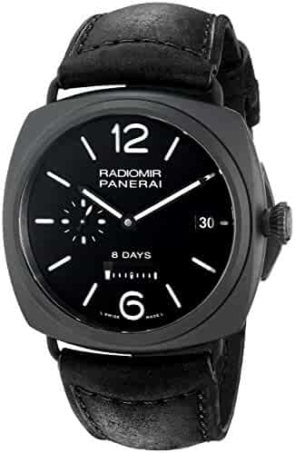 Panerai Men's PAM00384 Radiomir Analog Display Swiss Automatic Black Watch