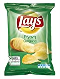 Lay's Potato Chips From Greece with Oregano - 50 Packs X 33g (1.1 Ounces Per Pack)