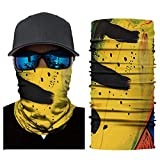 MeterMall Outdoor Accessory Cycling Unisex UV-Protection Mask Mountain Bike Face Mask Casual Sports Accessories AC282 Average Size