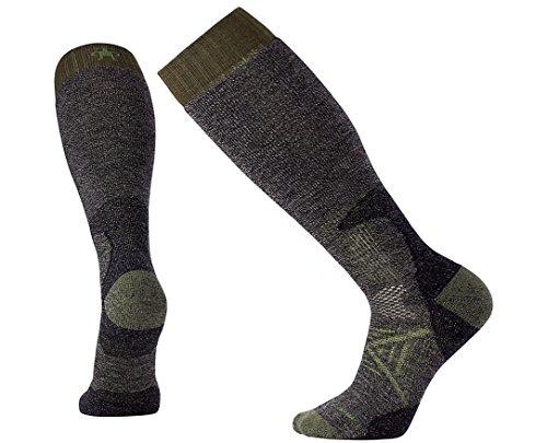 Smartwool Leg Warmer (Smartwool Men's PhD Hunt Heavy Over the Calf Socks (Black) Large)