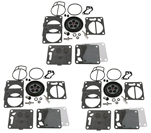 3 Pack of Premium Venom Brand SBN Mikuni Carb Carburetor Kit Fits MANY Yamaha WaveRunner 3 700 701 760 1200 Wave Blaster FX-1 GP GP760 1200 Superjet Raider Venture XL760 XL700 XL1200 LS2000 AR210 … -  JetSki Plus, Ven-SBN-YAM-X3