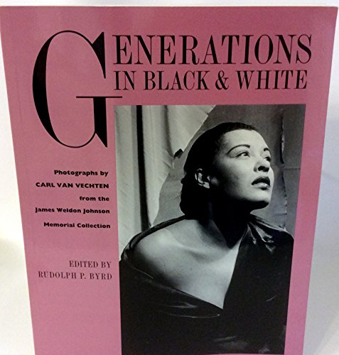 Books : Generations in Black and White: Photographs from the James Weldon Johnson Memorial Collection