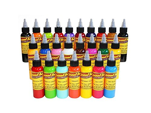 Eternal tattoo inks sets and gray wash set- Pick yours (25 color set -1oz)