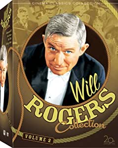 Will Rogers Collection: Vol. 2 (Ambassador Bill / David Harum / Mr. Skitch / Too Busy to Work)