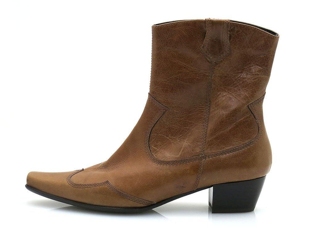 Botines de cuero botines de calzado de cuero Lamica, color marrón, talla 41: Amazon.es: Zapatos y complementos