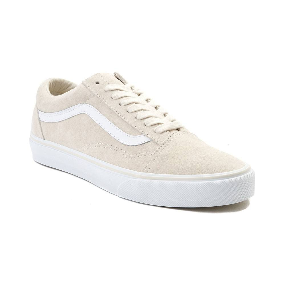Vans Unisex Old Skool Classic Skate Shoes B07CV84KF2 8.5 M US Women / 7 M US Men|Natural 7226