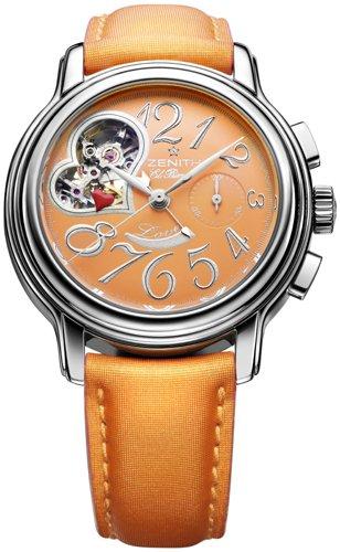 Zenith - Reloj de pulsera mujer, color naranja