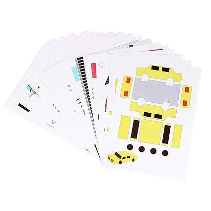 XuBa - Lápiz 3D para niños, con impresión 3D, 15 lápices, papel ...