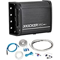 Kicker Powersports 12PX200.1 Motorcycle/ATV 200w Mono Amplifier+Amp Kit PX200.1