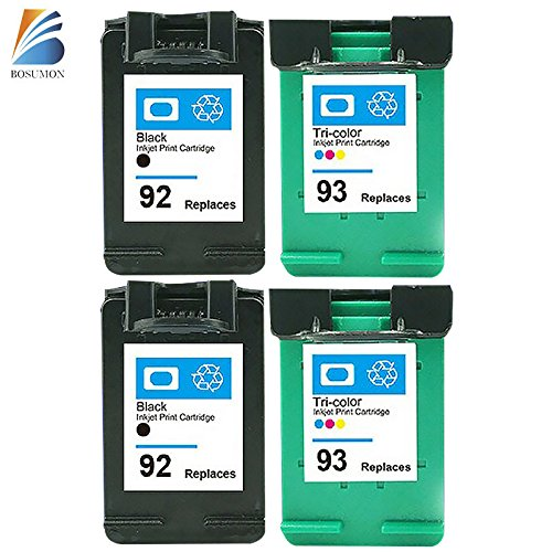 BOSUMON Remanufactured Ink Cartridges Compatible for Hp 9...