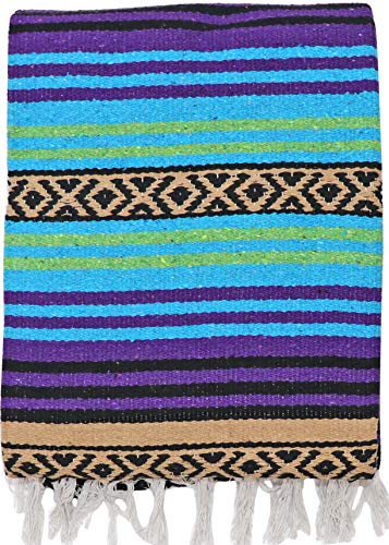 - El Paso Designs Peyote Hippie Blanket Classic Mexican Style Falsa Stripe Pattern in Vivid Peyote Colors. Throw, Bed, Tapestry, or Yoga Blanket. Hand Woven Acrylic, 57