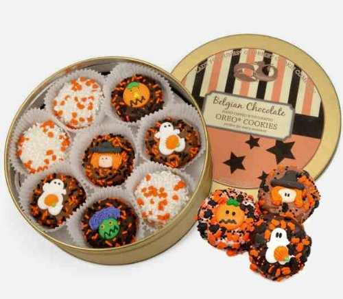 Spooktacular Halloween Decorated Oreos -