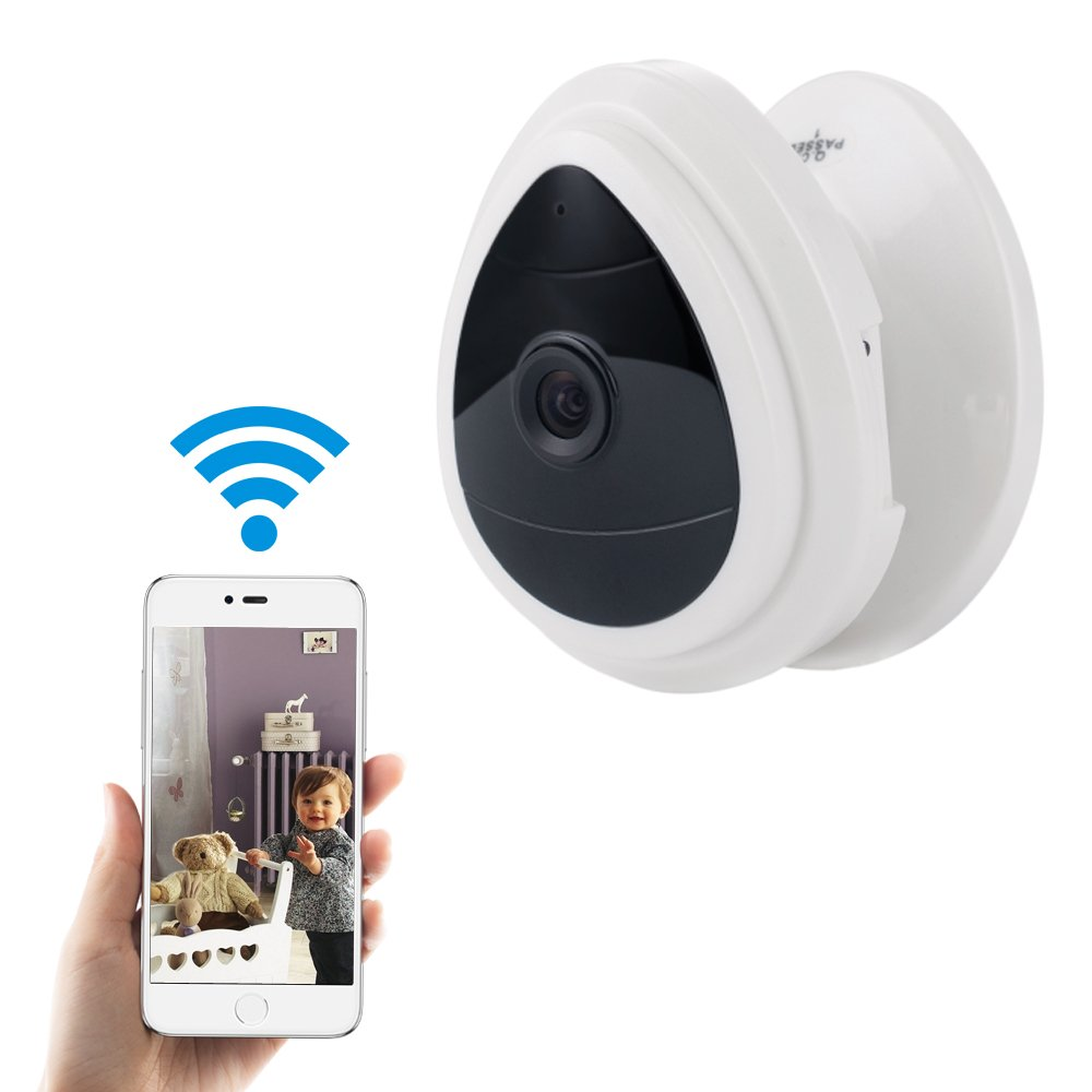 Mini Wireless Home Security Camera WiFi Surveillance IP Cameras Baby/Pet Monitor Nanny Cam Video Monitor Day Vision Only One Way Audio Motion Dectection