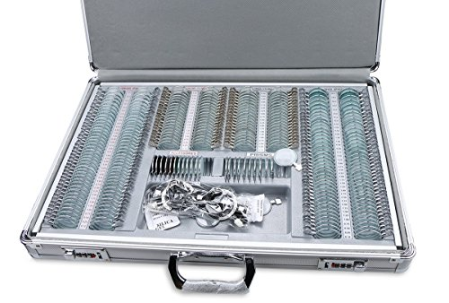 Optical 266pcs Trial Lens Set Metal Rim Optometry Box for sale  Delivered anywhere in USA