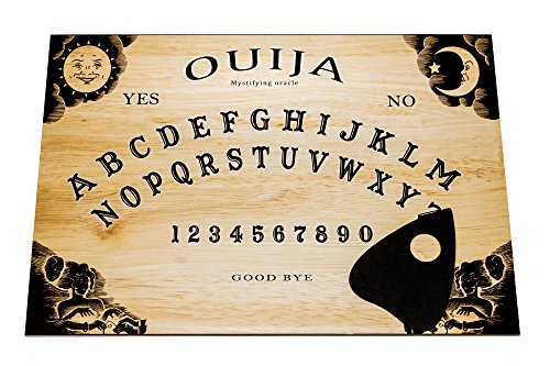Large Wooden Ouija Board game with Planchette and detailed instruction. A3...