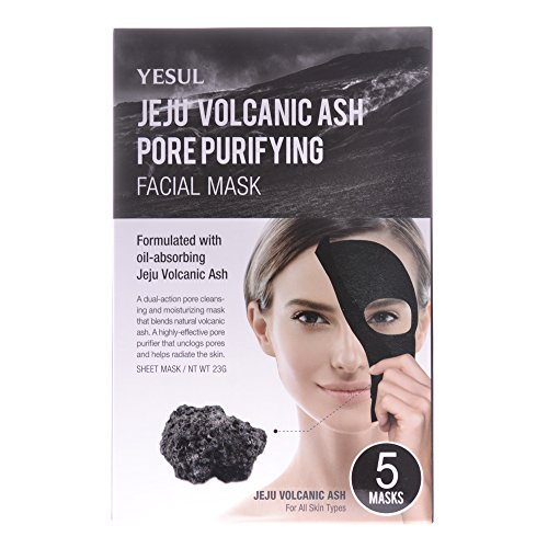 Price comparison product image Yesul Jeju Volcanic Ash Pore Purifying Facial Mask (5ct)