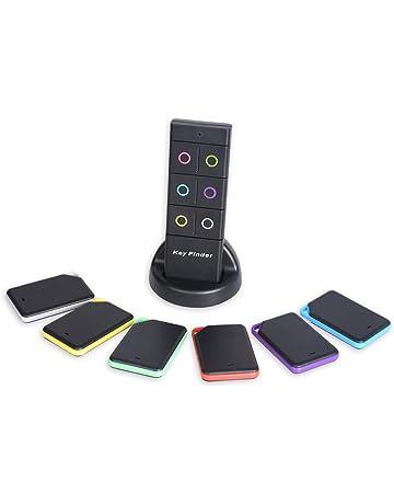 Wireless Localizador de llaves Buscador Mensáfono Monedero Encontrador Cartera Alarma anti-pérdida Llavero Inteligente Con