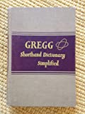 Gregg Shorthand Dictionary Simplified, John R. Gregg, 0070245452