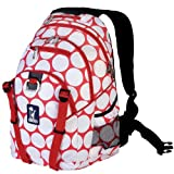 Wildkin Red and White Big Dot Serious Backpack, One Size