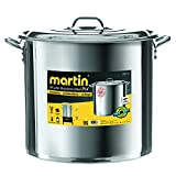 Stainless Brew Kettle Home Brewing Stainless Steel Stock Pot Brew-50 Quart