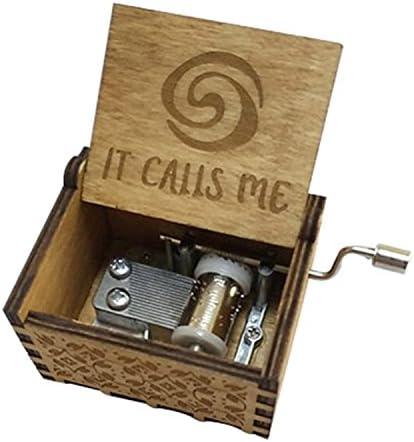 FORUSKY Caja de música de Madera Tallada a Mano para decoración del hogar, Manualidades, Juguetes, Regalo: Amazon.es: Hogar